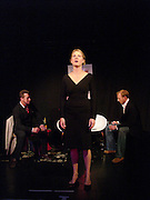 Bill Hurst, Kinvara Balfour and Joss Ings-Chambers, Dazed and Abused by Kinvara Balfour, the Canal Cafe theatre. London W2. 4 October 2004. ONE TIME USE ONLY - DO NOT ARCHIVE  © Copyright Photograph by Dafydd Jones 66 Stockwell Park Rd. London SW9 0DA Tel 020 7733 0108 www.dafjones.com