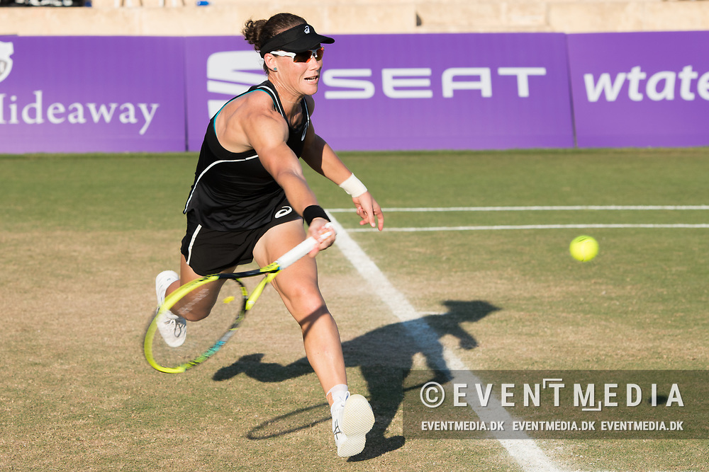 Samantha Stosur (AUS) during the Mallorca Open at Country Club Santa Ponsa on June 22, 2018 in Mallorca, Spain. Photo Credit: Katja Boll/EVENTMEDIA.