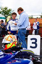 Lando Norris 3rd place finish | #31 Carlin | MSA Formula Championship | Race 3 - Mandatory byline: Rogan Thomson/JMP - 07966 386802 - 28/06/2015 - SPORT - MOTORSPORT - North Yorkshire, England - Croft Circuit - BTCC Meeting Day 2.