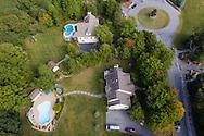 Warwick, New York - Backyard pool on Sept. 26, 2016.