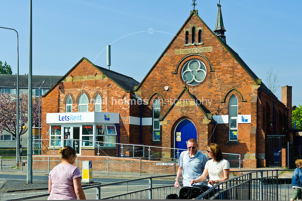 The old Willerby Methodist Church on the square, Willerby, East Yorkshire