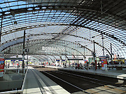 Berlin, GERMANY. General Views,  GV's . of the  the 'Berlin Hauptbahnhof' [main Station] .  Sunday  01/05/2011 [Mandatory Credit; Peter Spurrier/Intersport-images] Street Photos