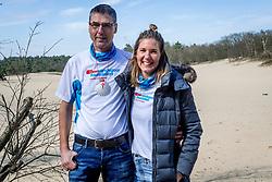 18-03-2018 NED: We hike to change diabetes, Soest<br /> Training voor de Camino 2018 op de Soesterduinen / Andre en Miranda