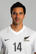 NZ All Whites Headshots
