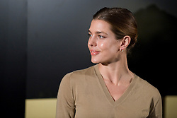 HRH. Carlota Casiraghi opens Cartier exhibition at Thyssen Museum, Madrid, Spain, October 22, 2012. Photo by Oscar Gonzalez / i-Images...SPAIN OUT
