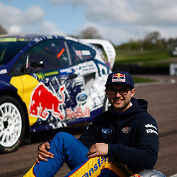 Andrew Jordan. World Rallycross Media Day at Lydden Hill Race Circuit, Kent (c) Matt Bristow | SportPix.org.uk