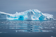 Icebergs in Lindblad Cove, Antarctica