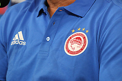 September 26, 2017 - Turin, Piedmont, Italy - The Olympiakos FC press conference on the eve of  the UEFA Champions League (Group D) match between Juventus FC and Olympiakos FC  at Allianz Stadium on 26 September, 2017 in Turin, Italy. (Credit Image: © Massimiliano Ferraro/NurPhoto via ZUMA Press)