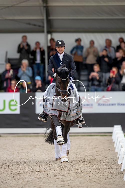 Helgstrand Andreas, DEN, Jovian<br /> World Championship Young Dressage Horses - Ermelo 2019<br /> © Hippo Foto - Dirk Caremans<br /> Helgstrand Andreas, DEN, Jovian