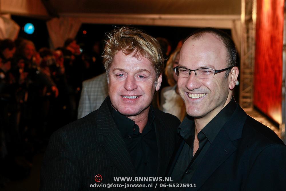 NLD/Utrecht/20110303 - Buma Stemra Harpengala 2011, Tony Neef en partner Benny