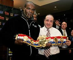 December 12, 2005 - Zab Judah-Carlos Baldomir/Jean-Marc Mormeck-O'Neill Bell Presser - MSG, NY, NY