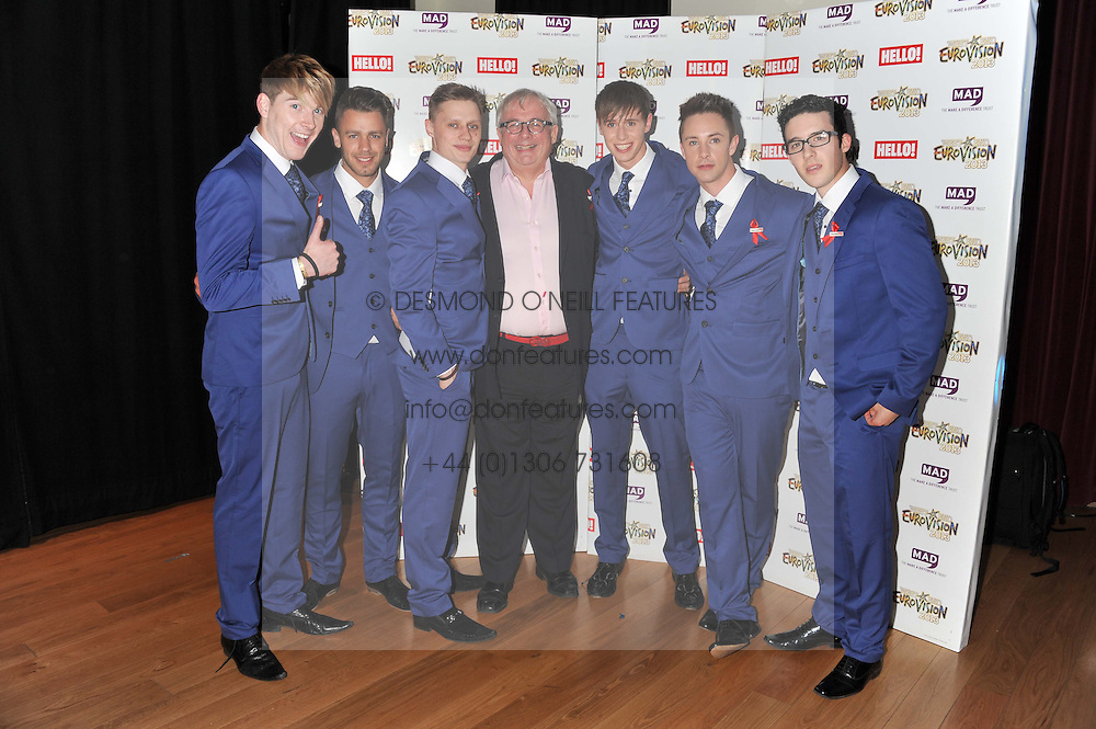 CHRISTOPHER BIGGINS and  at West End Eurovision 2013 held at the  Dominion Theatre, London on 23rd May 2013.