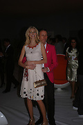 Donna Air and Patrick Cox. The Moet & Chandon Fashion Tribute 2005 to Matthew Williamson,  Old Billingsgate market, London. 16th February 2005. ONE TIME USE ONLY - DO NOT ARCHIVE  © Copyright Photograph by Dafydd Jones 66 Stockwell Park Rd. London SW9 0DA Tel 020 7733 0108 www.dafjones.com