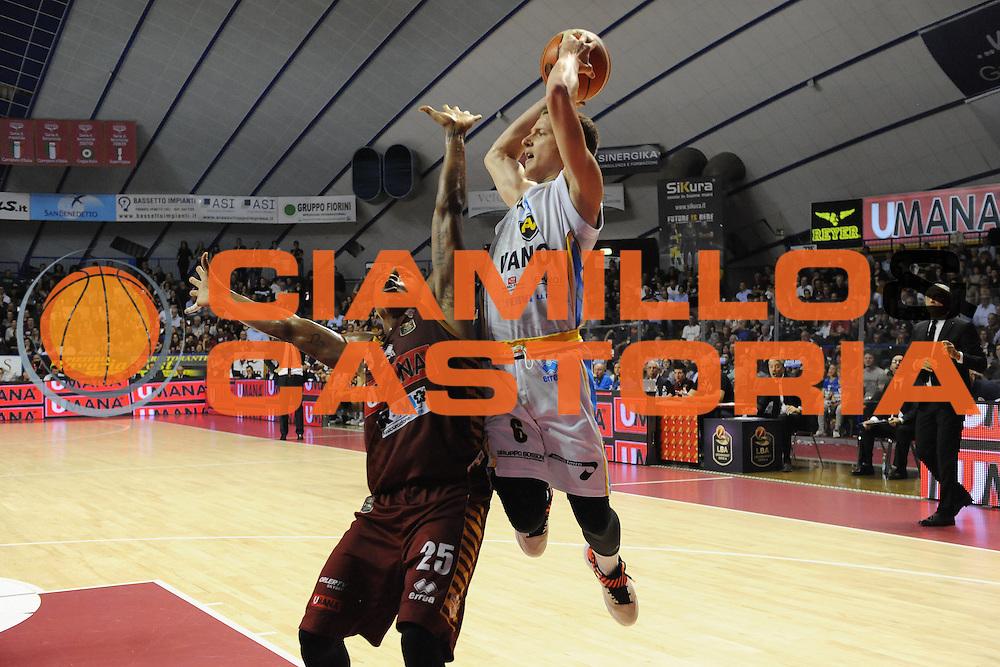 Andrea Amato<br /> Umana Reyer Venezia - Vanoli Cremona<br /> Lega Basket Serie A 2016/2017<br /> Venezia 30/10/2016<br /> Foto Ciamillo-Castoria