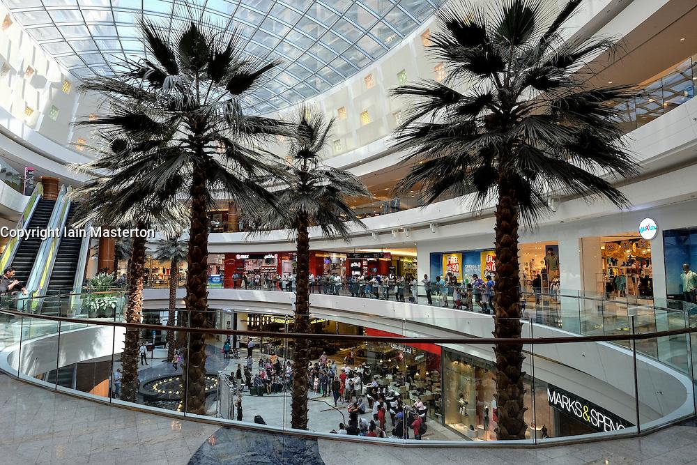 Al Ghurair shopping mall in Dubai United Arab Emirates