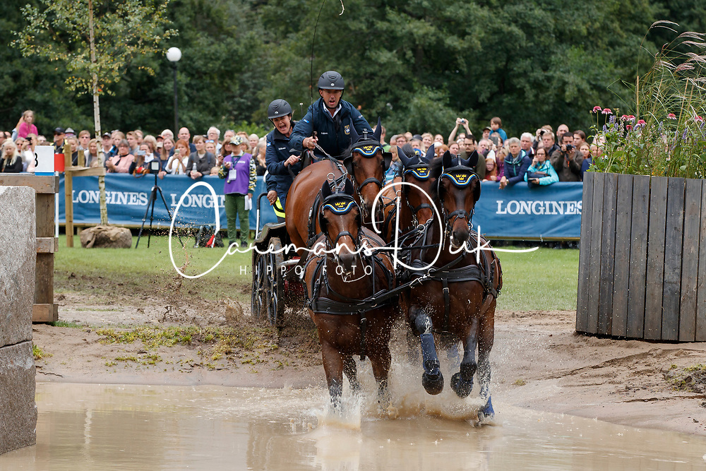 Persson Fredrik, SWE, Bartes, Corfy, Don Catcher, Samba Girl, Twister<br /> FEI European Driving Championships - Goteborg 2017 <br /> &copy; Hippo Foto - Dirk Caremans<br /> 26/08/2017,