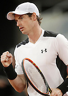 Andy Murray during the Madrid Open at Manzanares Park Tennis Centre, Madrid<br /> Picture by EXPA Pictures/Focus Images Ltd 07814482222<br /> 06/05/2016<br /> ***UK &amp; IRELAND ONLY***<br /> EXPA-ESP-160506-0005.jpg