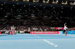29.10.2016, Stadthalle, Wien, AUT, ATP Tour, Erste Bank Open, Halbfinale, im Bild Ivo Karlovic (CRO) // Ivo Karlovic of Croatia during the semifinal match of Erste Bank Open of ATP Tour at the Stadthalle in Vienna, Austria on 2016/10/29. EXPA Pictures © 2016, PhotoCredit: EXPA/ Sebastian Pucher
