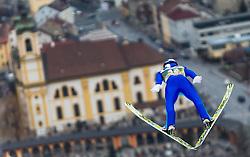 02.01.2016, Bergisel Schanze, Innsbruck, AUT, FIS Weltcup Ski Sprung, Vierschanzentournee, Training, im Bild Gregor Schlierenzauer (AUT) // Gregor Schlierenzauer of Austria during his Practice Jump for the Four Hills Tournament of FIS Ski Jumping World Cup at the Bergisel Schanze, Innsbruck, Austria on 2016/01/02. EXPA Pictures © 2016, PhotoCredit: EXPA/ Jakob Gruber
