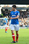 Matty Kennedy (11) of Portsmouth during the EFL Sky Bet League 1 match between Portsmouth and Bradford City at Fratton Park, Portsmouth, England on 28 October 2017. Photo by Graham Hunt.