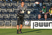 Forest Green Rovers goalkeeper coach Pat Mountain during the EFL Sky Bet League 2 match between Forest Green Rovers and Stevenage at the New Lawn, Forest Green, United Kingdom on 21 August 2018.