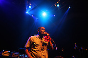 Jay Electronica performs at Mos Def's Estatic Tour featuring DcQ and Jay Electronica held at the 9:30 Club in Washington D.C on August 9, 2009
