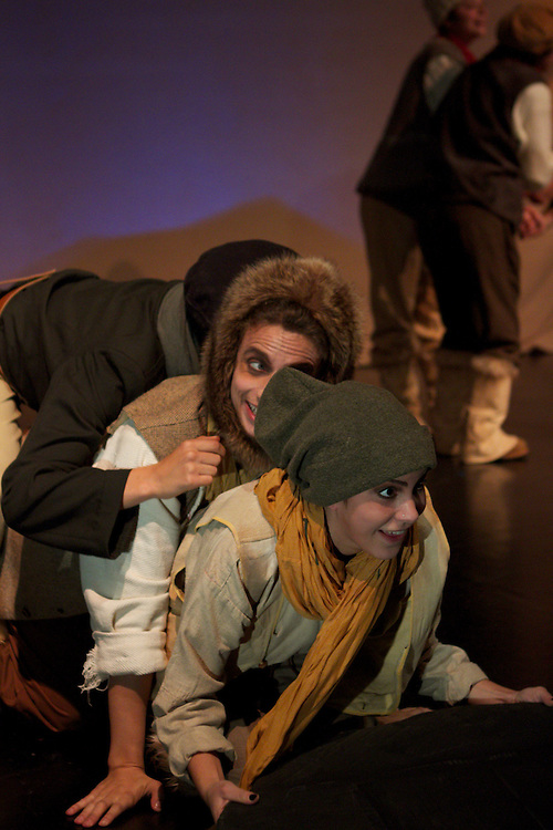 """The Explorer: A journey to the edge of the world..Directed by Cathia Pagotto..A new piece based on the themes of arctic exploration examines the reality of a harsh landscape and our romantic notions of adventure and discovery...Description:..On May 19, 1845 Sir John Franklin embarked on an expedition to the Arctic that was the best prepared in the history of exploration. On board was a crew of 129 hardy navy seamen, 3 years worth of food, 1,700 books, and supplies to meet every imaginable need. Less than a year later, Franklin and his ship disappeared.. .The Explorer is a new theatre piece that uses Franklin, and life aboard his ill-fated ship, as a window into the world of the Arctic, a place that lives, for the most part, in our imaginations: the mythic edge of the world, a place of awe-inspiring vastness, brutality, and mystery.. .Parallel to the story of Franklin's ship, another story is told: that of lesser-known inhabitants of the Far North, the Hyperboreans. Mythical creatures said to live 1,000 years in a state of paradise, the Hyperboreans do not experience age, illness, or battle. Their fate changes when Franklin's ship crosses their path.. .Created by Pagotto and the student collective, The Explorer is told through images, movement, sound and environment: a narrative installation, with scenes that are tableaux vivants, moving dioramas, lyrical pieces of performance art. The use of text is minimal, one element of many...About the director:. .With a background in visual arts and design, Cathia Pagotto has been exploring methods of visual narrative for the last ten years. Inspired by the worlds of dance, silent film, melodrama, and performance art among others, Pagotto aims to offer work that is """"moving, magical, heartfelt, and honest."""" She has worked with numerous dance, theatre, and film productions worldwide."""