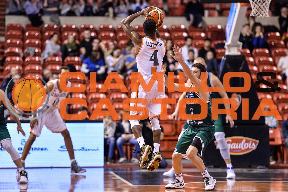 Giordan Watson<br /> Le Mans Sarthe Basket - Banco di Sardegna Dinamo Sassari<br /> FIBA Basketball Champions League 2016/2017<br /> Ottavo di finale<br /> Le Mans 07/03/2017