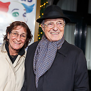 NLD/Amsterdam/20171221 - Premiere 33e Wereldkerstcircus, theo Heuft en partner Moni