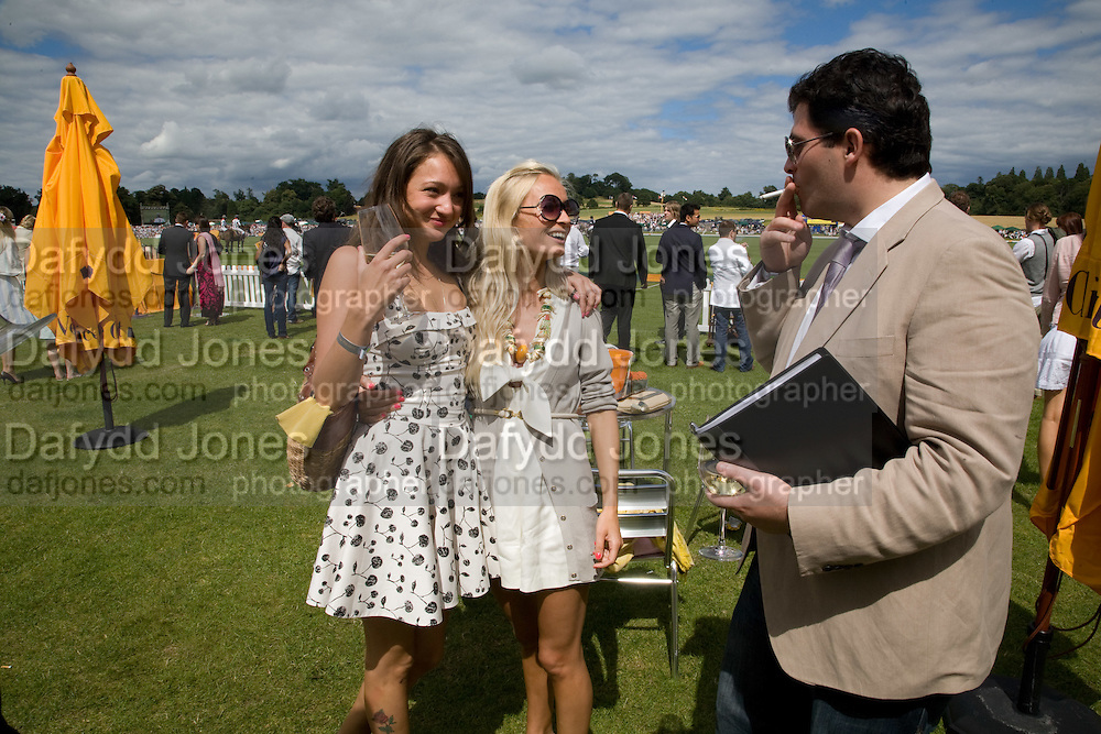 GEORGIE LANGTON; MARTHA WARD, 2008 Veuve Clicquot Gold Cup Polo final at Cowdray Park. Midhurst. 20 July 2008 *** Local Caption *** -DO NOT ARCHIVE-© Copyright Photograph by Dafydd Jones. 248 Clapham Rd. London SW9 0PZ. Tel 0207 820 0771. www.dafjones.com.