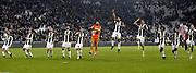 © Filippo Alfero<br /> Juventus-Napoli, Serie A 2016/2017<br /> Torino, 29/10/2016<br /> sport calcio<br /> Nella foto: Esultanza giocatori Juventus a fine gara