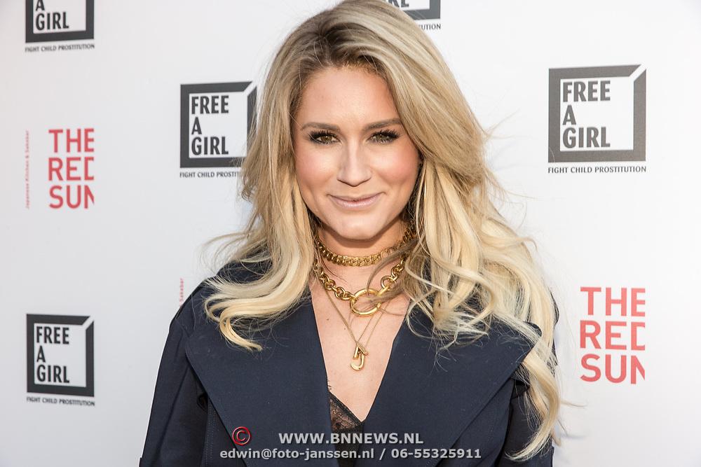 NLD/Blaricum/20190513 -  Lock Me Up - Free a Girl actie benefietfeest, Nikkie Plessen