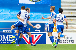 Nick Powell of Wigan Athletic celebrates after scoring his sides first goal  - Mandatory by-line: Matt McNulty/JMP - 16/09/2017 - FOOTBALL - DW Stadium - Wigan, England - Wigan Athletic v Bristol Rovers - Sky Bet League One
