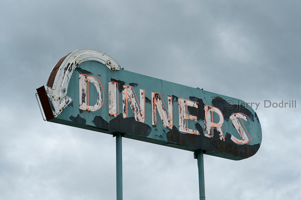 Dinners, Willits, California