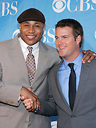 LL Cool J and Chris O'Donnell pose at the CBS 2009 Upfronts at Terminal 5 in New York City, USA on May 20, 2009.