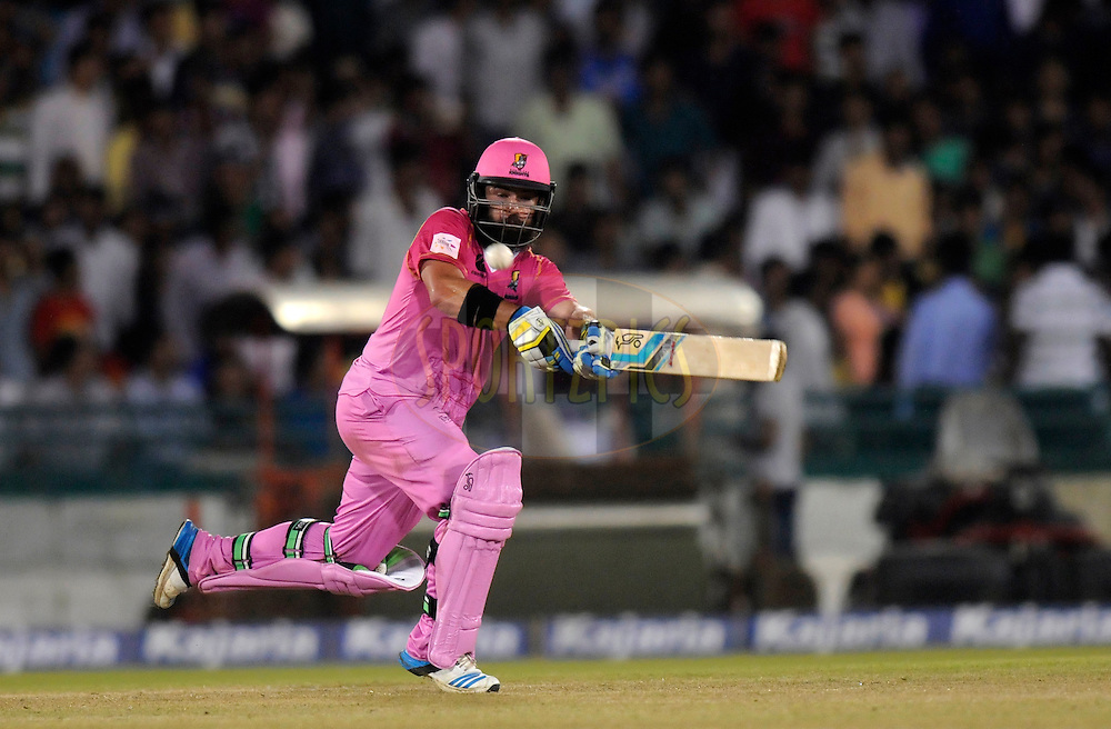Anton Devcich of Northern Districts bats during the qualifier 1 match of the Oppo Champions League Twenty20 between the Northern Knights and the Southern Express held at the Chhattisgarh International Cricket Stadium, Raipur, India on the 13th September 2014<br /> <br /> Photo by:  Pal Pillai / Sportzpics/ CLT20<br /> <br /> <br /> Image use is subject to the terms and conditions as laid out by the BCCI/ CLT20.  The terms and conditions can be downloaded here:<br /> <br /> http://sportzpics.photoshelter.com/gallery/CLT20-Image-Terms-and-Conditions-2014/G0000IfNJn535VPU/C0000QhhKadWcjYs