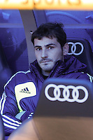 06.01.2013 SPAIN -  La Liga 12/13 Matchday 18th  match played between Real Madrid CF vs  Real Sociedad (4-3) at Santiago Bernabeu stadium. The picture show Iker Casillas (spanish goalkeeper of Real Madrid)