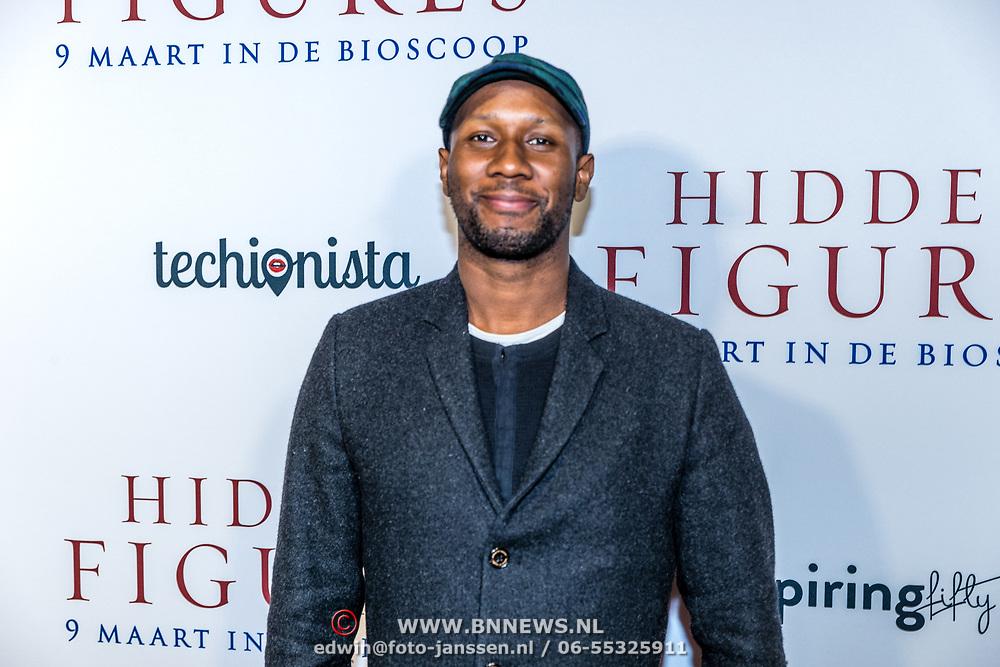 NLD/Amsterdam//20170307 - Premiere HIdden Figures, Dio
