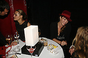 Yasmin Mills and  Alice Temperley, MOVE FOR AIDS HOSTED BY ELLE MACPHERSON & DAVID FURNISH. Koko, Camden High St. London. 7/11/06. ONE TIME USE ONLY - DO NOT ARCHIVE  © Copyright Photograph by Dafydd Jones 66 Stockwell Park Rd. London SW9 0DA Tel 020 7733 0108 www.dafjones.com