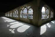 Alcobaça Monastery's cloister of Silence or cloister of King Dinis I, Alcobaça, Portugal.PHOTO PAULO CUNHA/4SEE
