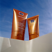 Estee Lauder tanning loction shot on location