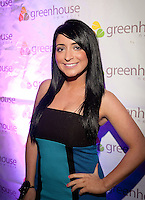 NEW YORK, NY - APRIL 13:  Jersey Shore's Angelina Pivarnick attends Frank Gotti's birthday celebration at Greenhouse on April 13, 2011 in New York City.  (Photo by Dave Kotinsky/Getty Images)