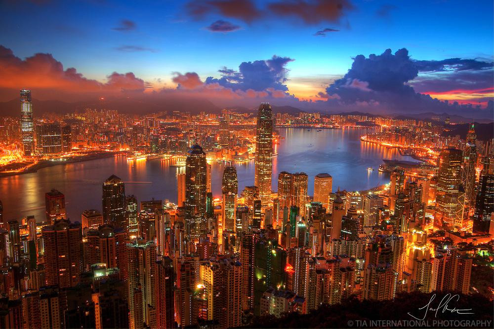 Hong Kong Sunrise / Limited Edition