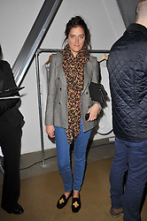 VIOLET VON WESTENHOLZ at a party to launch pop-up store Oxygen Boutique, 33 Duke of York Square, London SW3 on 8th February 2011.