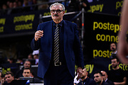 Meo Sacchetti of Vanoli Cremona   <br /> Vanoli Cremona - Segafredo Virtus Bologna<br /> Postemobile Final Eight 2019 Zurich Connect<br /> Basket Serie A LBA 2018/2019<br /> FIRENZE, ITALY - 16 February 2019<br /> Foto Mattia Ozbot / Ciamillo-Castoria