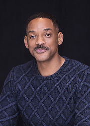 December 2, 2016 - New York, New York, U.S. - WILL SMITH promotes the movie 'Collateral Beauty. Willard Carroll 'Will' Smith Jr. (born September 25, 1968) is an American actor, producer, rapper, and songwriter. In April 2007, Newsweek called him 'the most powerful actor in Hollywood.' Smith has been nominated for five Golden Globe Awards and two Academy Awards, and has won four Grammy Awards. In the late 1980s, Smith achieved modest fame as a rapper under the name The Fresh Prince. In 1990, his popularity increased dramatically when he starred in the popular television series The Fresh Prince of Bel-Air. The show ran for six seasons (1990-96). Smith transitioned from television to film, and ultimately starred in numerous blockbuster films. He is the only actor to have eight consecutive films gross over $100 million in the domestic box office, eleven consecutive films gross over $150 million internationally, and eight consecutive films in which he starred open at the number one spot in the domestic box office tally. For his performances as boxer Muhammad Ali in Ali (2001) and stockbroker Chris Gardner in The Pursuit of Happyness (2006), Smith received nominations for the Academy Award for Best Actor. (Credit Image: © Armando Gallo via ZUMA Studio)