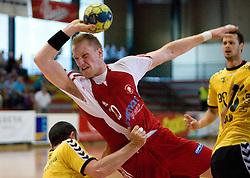 Miha Zvizej of Slovan at handball match of MIK 1st Men league between RD Slovan and RK Gorenje Velenje, on May 16, 2009, in Arena Kodeljevo, Ljubljana, Slovenia. Gorenje won 27:26. (Photo by Vid Ponikvar / Sportida)