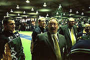 2002 Indoor Cricket World Cup in Wellington, New Zealand. Australian Men's coach Ross Gregory may look surprised, but Australia's dominance of the tournament wasn't really a surprise to many.
