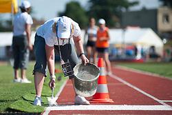 Behind the scenes, , Long Jump, T11, 2013 IPC Athletics World Championships, Lyon, France