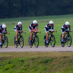 Boels Rental Ladies Tour Coevorden TTT 5th Tibco to the top Shelley Olds, Claudia Haussler, Chantal Blaak, Lauren Stephens, Amanda Miller